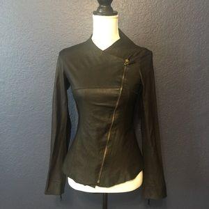 ILLIA Soft and Lightweight Genuine Leather Jacket